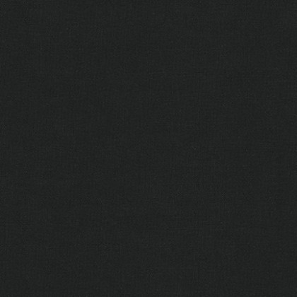 Solid Cotton Black (Colour #1019)