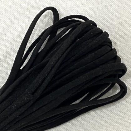 2MM SOFT ELASTIC BLACK 10m